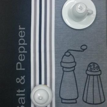 "Torchons de cuisine "" Salt & Pepper"""