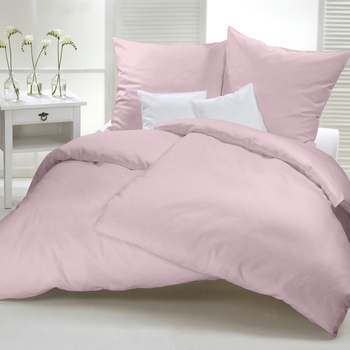 Flanelle unie rose
