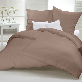 Flanelle unie Taupe