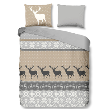 Flanelle Cerf sable