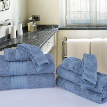 serviette éponge ice blue